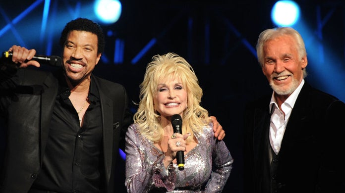 kenny-rogers-dolly-parton-lionel-richie-iconic songs