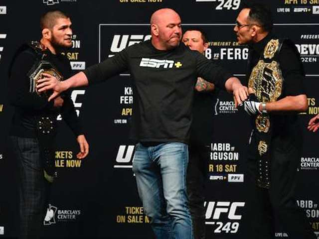 UFC: ESPN Re-Airing Tony Ferguson, Khabib Nurmagomedov Fights Tonight