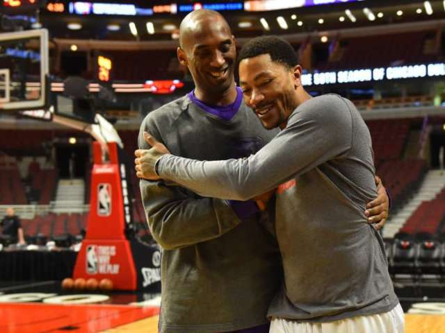Kobe Bryant Fans Are Loving This Throwback NBA 2K10 Commercial With Derrick Rose