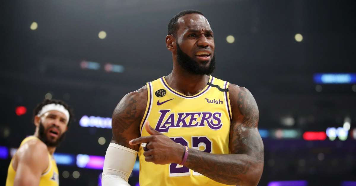 LeBron James Astros Cheating Scandal Irate (1)