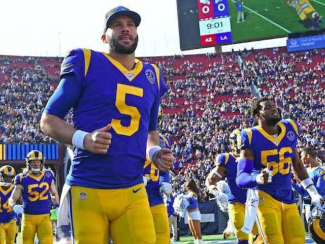 Los Angeles Rams to Unveil New Logo, Colors Amid COVID-19 Outbreak