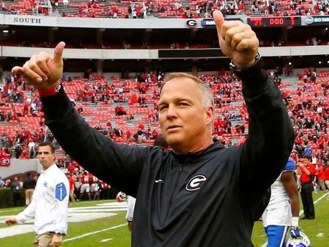 Former Georgia Coach Mark Richt Wears Georgia Tech Gear and Bulldogs Fans Lose It