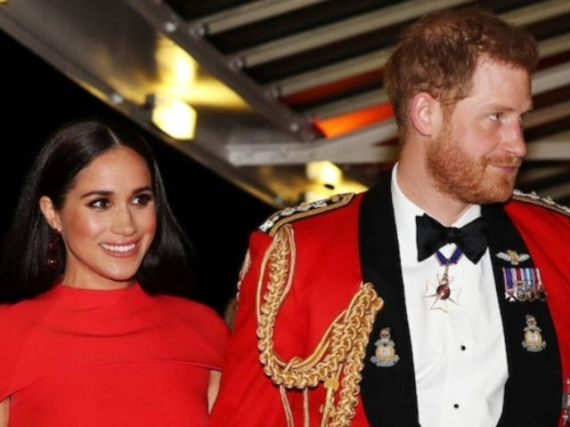 Prince Harry and Meghan Markle Display Rare PDA During One of Their Final Royal Outings