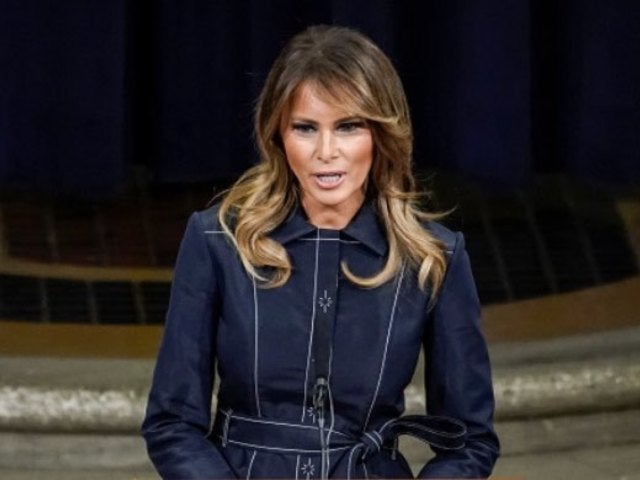 Melania Trump Tweets out New Message About Social Distancing Amid Coronavirus Pandemic