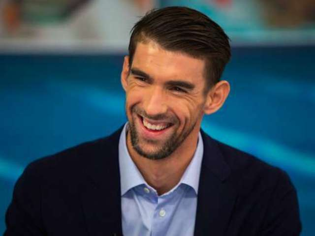 Michael Phelps Poses With Son Maverick in Adorable New Selfie