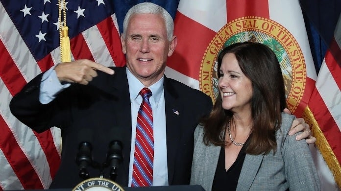 mike pence karen getty images