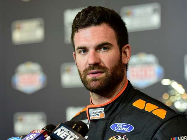 NASCAR's Corey LaJoie and Wife Kelly Welcome First Child