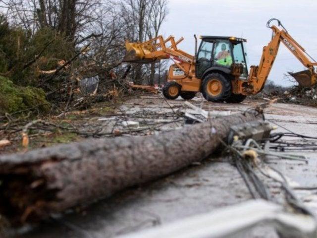 Nashville Tornado: Video Footage Shows Destroyed School After Deadly Storm