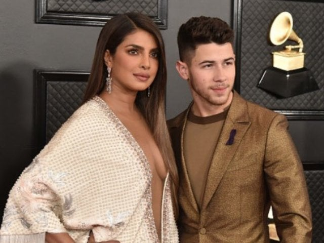 Nick Jonas and Priyanka Chopra Have Colorful Frolic Celebrating Holi