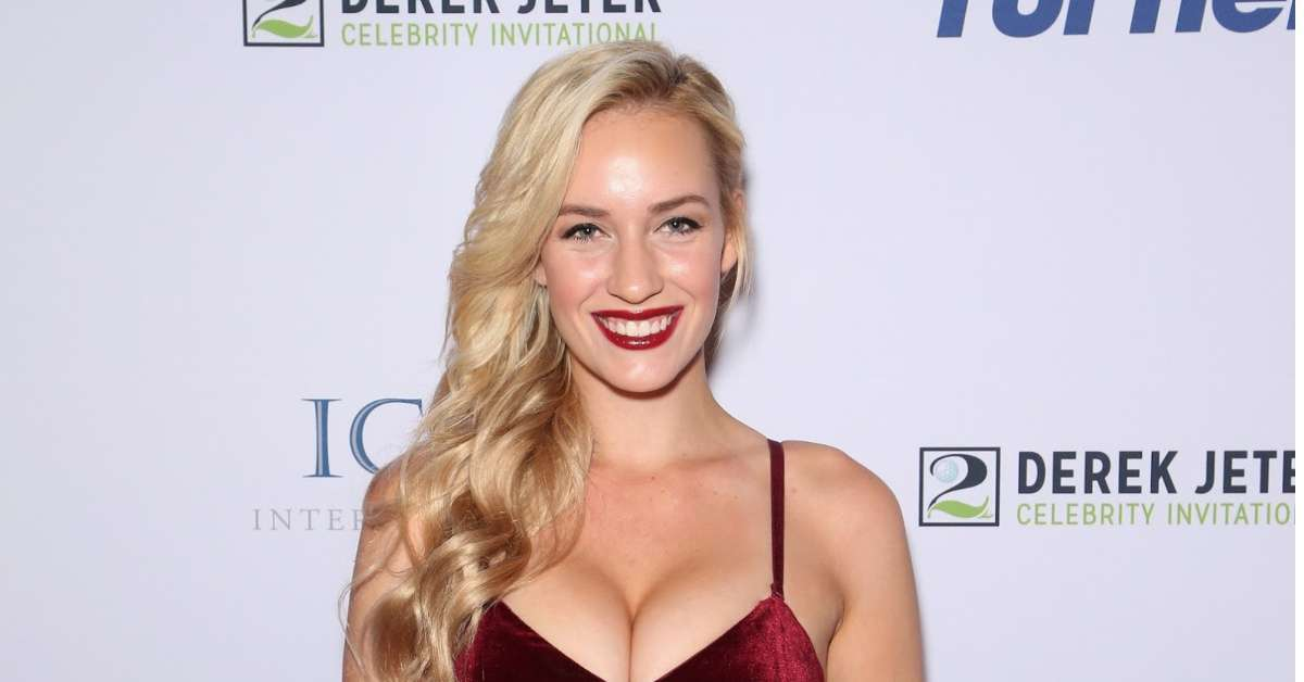 Paige Spiranac pro golfer ruining the game cleavage