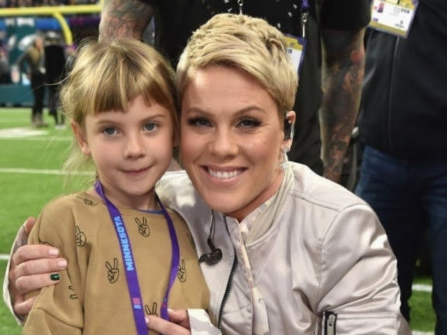 Pink Shares New Family Schedule Made With Her Daughter Willow as They Stay Home Amid Coronavirus