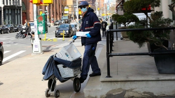 postal worker getty images