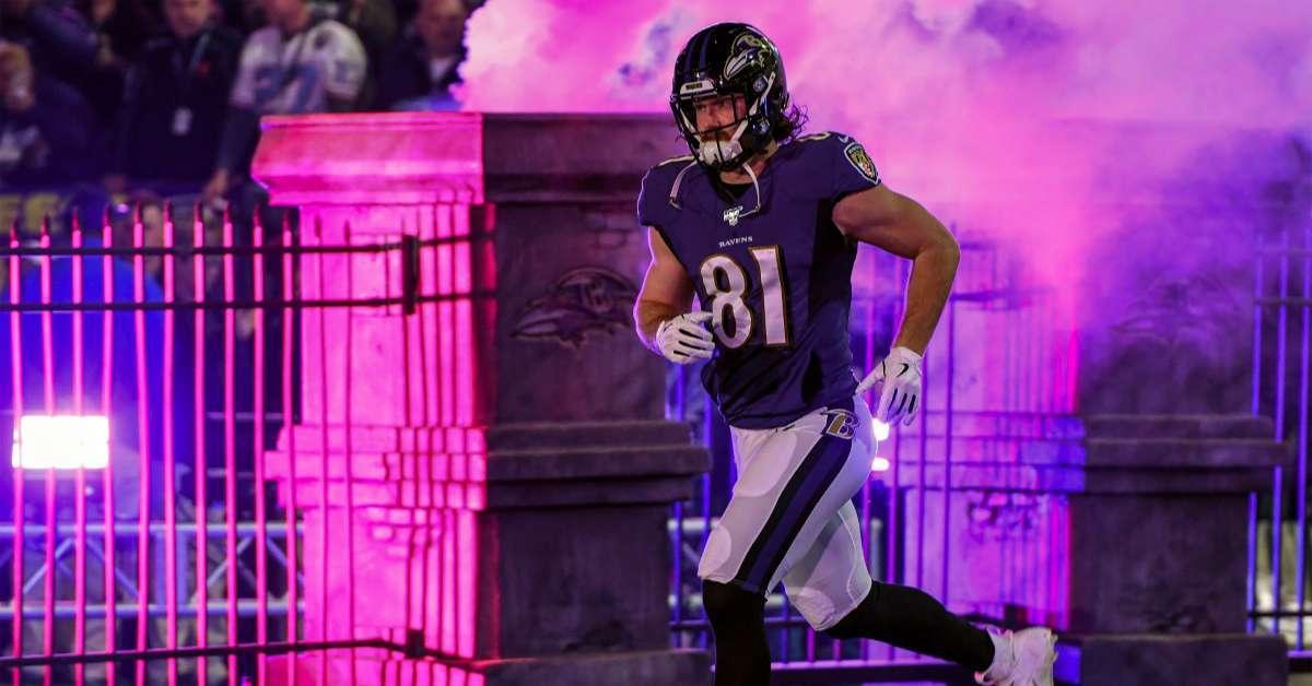 Ravens Hayden Hurst depression struggles