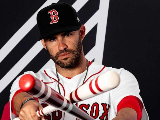 Red Sox's J.D. Martinez Reveals Offseason Travel Adventures, Key to Winning Another World Series (Exclusive)