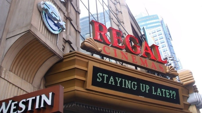 regal cinemas getty images