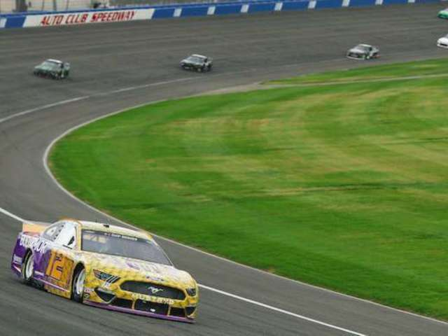 Auto Club 400: Ryan Blaney and His Kobe Bryant Tribute Car Place 19th Just Weeks After Involvement in Ryan Newman Crash
