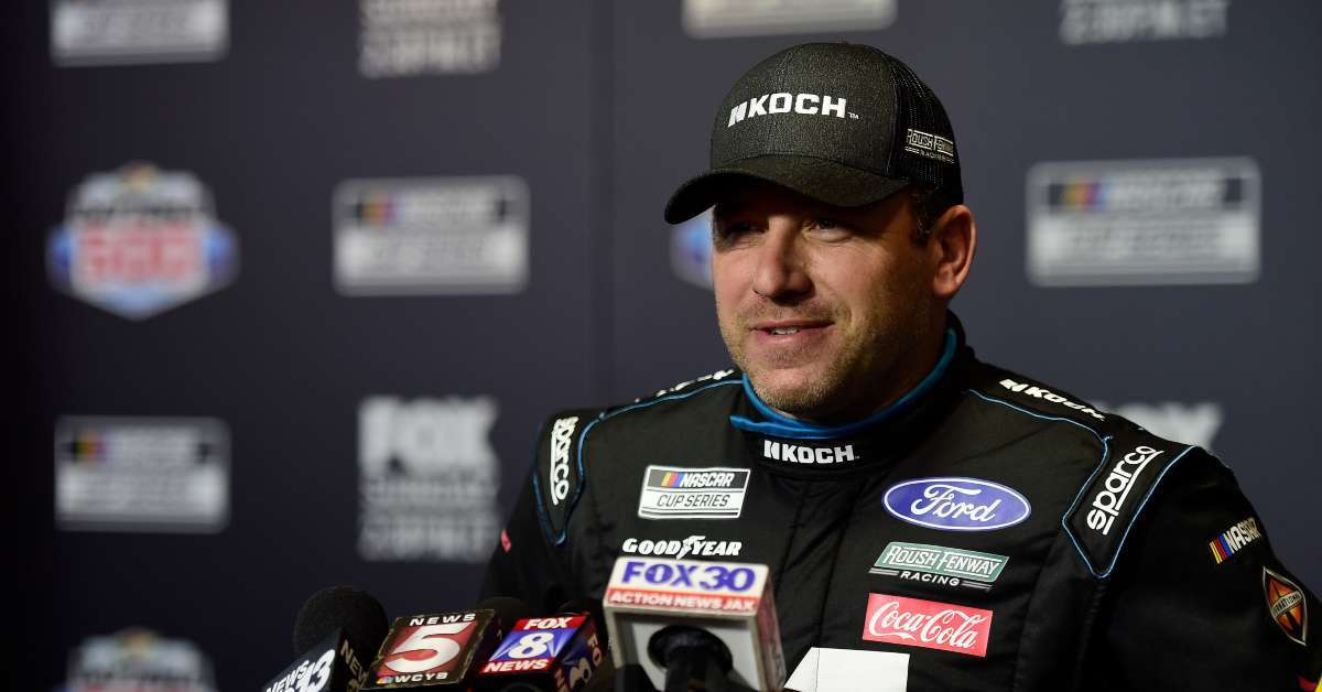 Ryan Newman NASCAR thanks fans prayers blessed