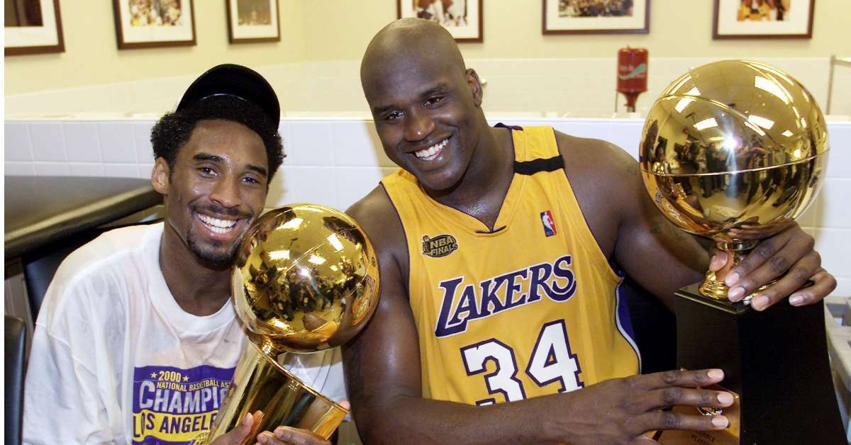 Shaquille O'Neal Kobe Bryant 3 players unstoppable
