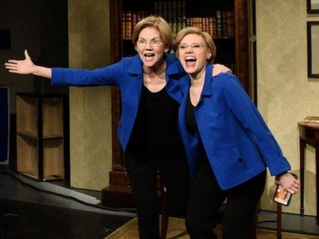 Drake Responds to Elizabeth Warren 'Flip the Switch' on 'SNL'