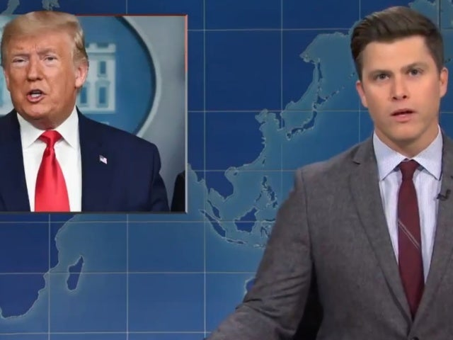 'SNL': 'Weekend Update' Anchor Colin Jost Rips Into Trump Administration's Coronavirus Response