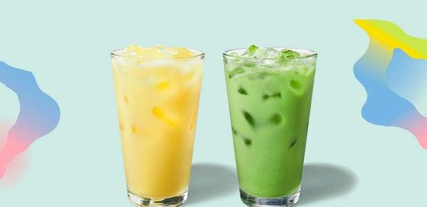 starbucks-iced-pineapple-matcha-iced-golden-ginger