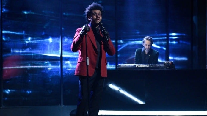 the weeknd snl getty images nbc