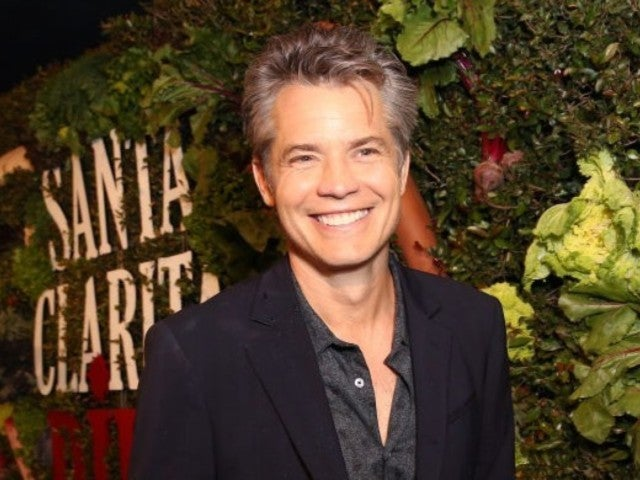 Timothy Olyphant Busts out Disinfectant Wipes During 'Conan' Interview Amid Coronavirus Concerns