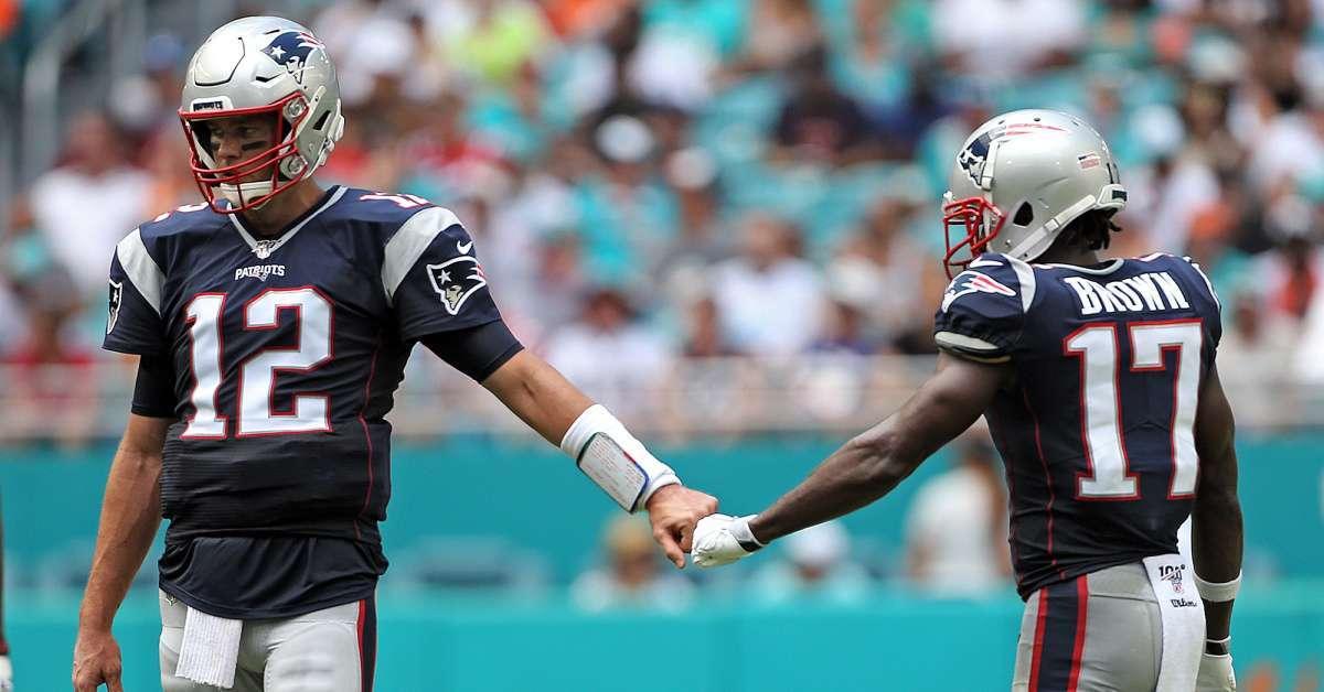 Tom Brady Antonio Brown play next season