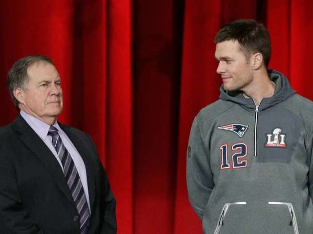 Tom Brady and Bill Belichick Reportedly Talk About Upcoming Free Agency, Conversation 'Didn't Go Well'