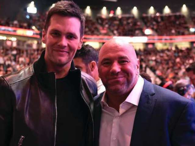Tom Brady Put on the Spot by UFC President Dana White, Asked to Join Raiders on Instagram Live