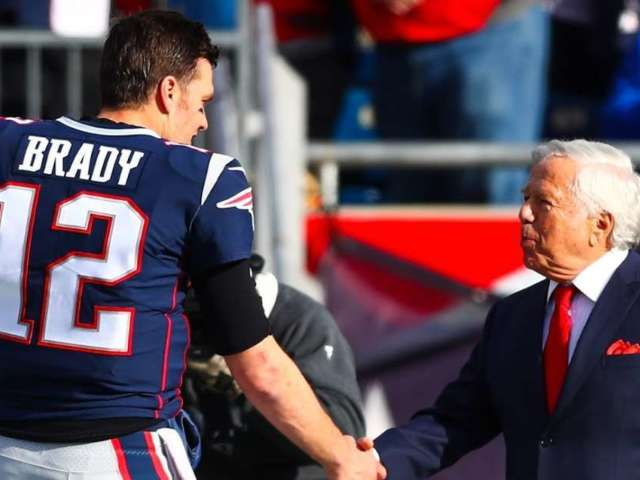 New England Patriots Owner Robert Kraft Reacts to Tom Brady's Exit