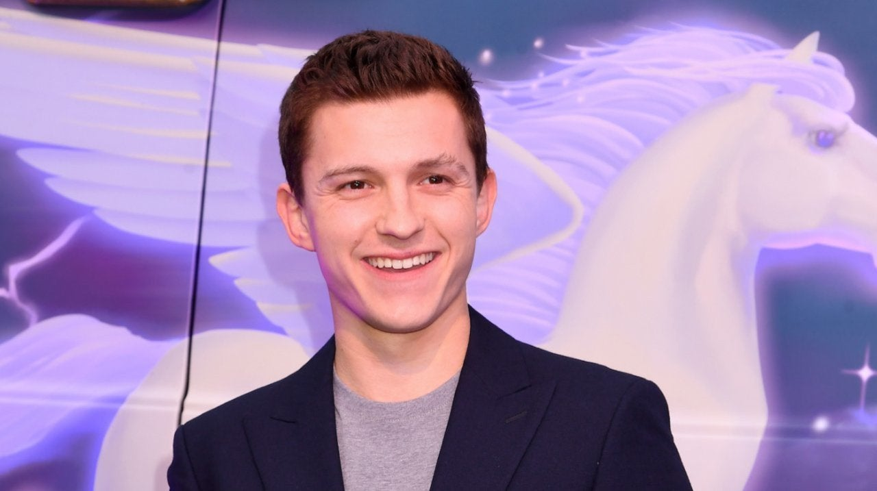 Tom Holland Flashes Shaved Legs as He Goes Pantless in Virtual Interview.jpg
