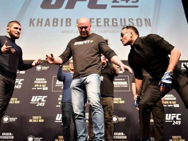 UFC Postponing 3 Events, But Khabib Nurmagomedov vs. Tony Ferguson Still Happening