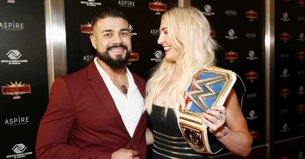 WWE Andrade injured Wrestlemania removed