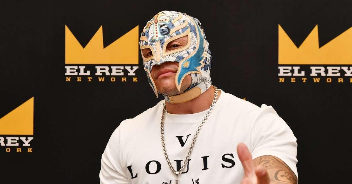 WWE Rey Mysterio Dana Brook coronavirus pandemic quarantine