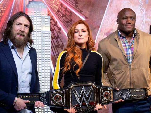 WWE Scheduled to Tape WrestleMania 36 This Week