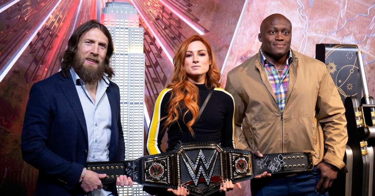 WWE WrestleMania taped this week