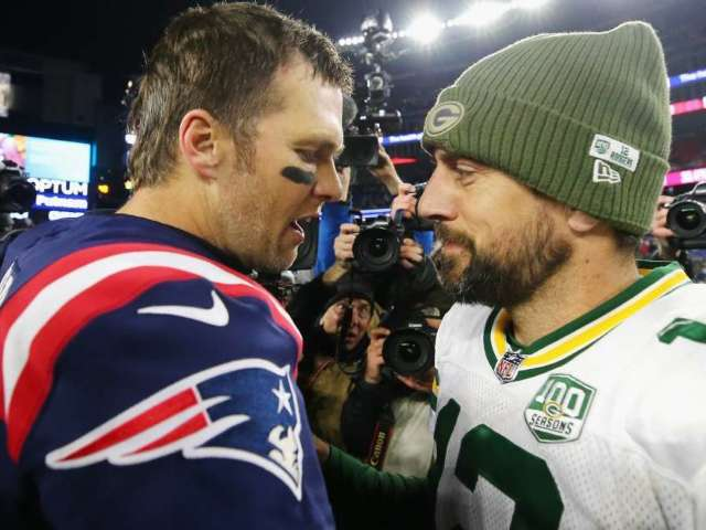 Aaron Rodgers Says Tom Brady Joining Buccaneers Is 'Strange'