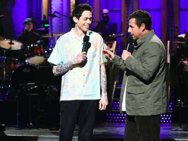 Pete Davidson Dishes on Adam Sandler's Basketball Skills