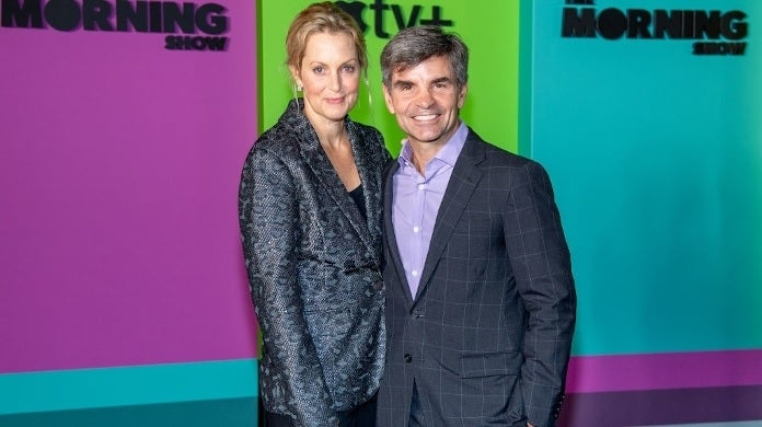 ali wentworth george stephanopoulos getty images