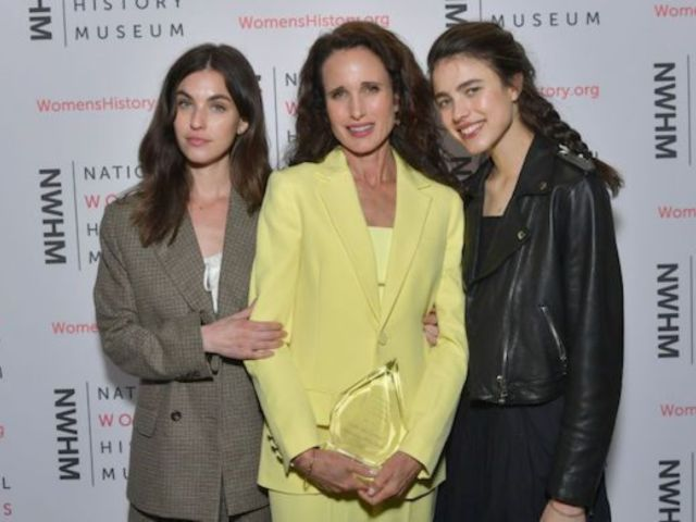 Andie MacDowell Crawls Under Gate to Sneak out of Closed LA Park With Daughters Margaret and Rainey Qualley