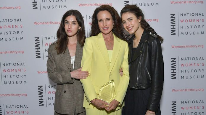 andie-macdowell-margaret-rainey-qualley-getty