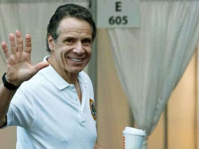 Andrew Cuomo Has Twitter Speculating That He Has a Nipple Piercing