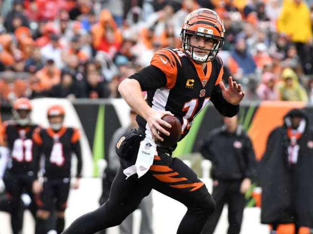 Bengals Release Andy Dalton, Joe Burrow in Line to Be Starting QB