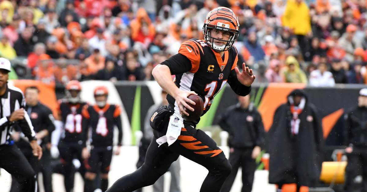 Andy Dalton Bengals release Joe Burrow starting QB