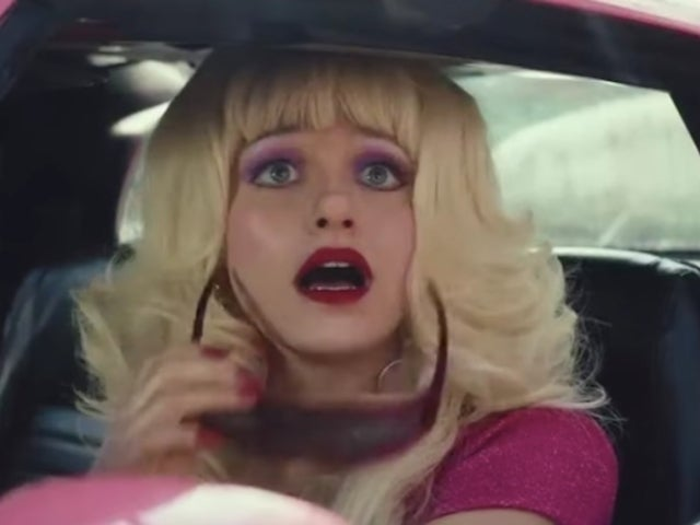 'Angelyne' First Look Teaser Trailer Released, and Emmy Rossum Is Totally Unrecognizable