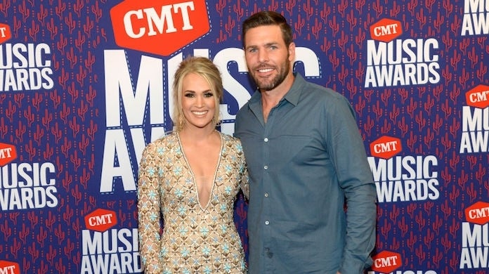 carrie-underwood-mike-fisher_getty-Rick Diamond : Stringer