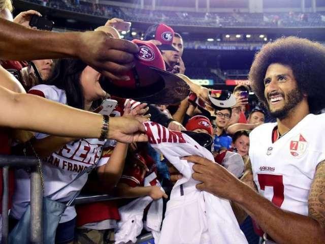 Colin Kaepernick: NFL Fans Got Excited After False Rumor New York Jets Signed Exiled QB