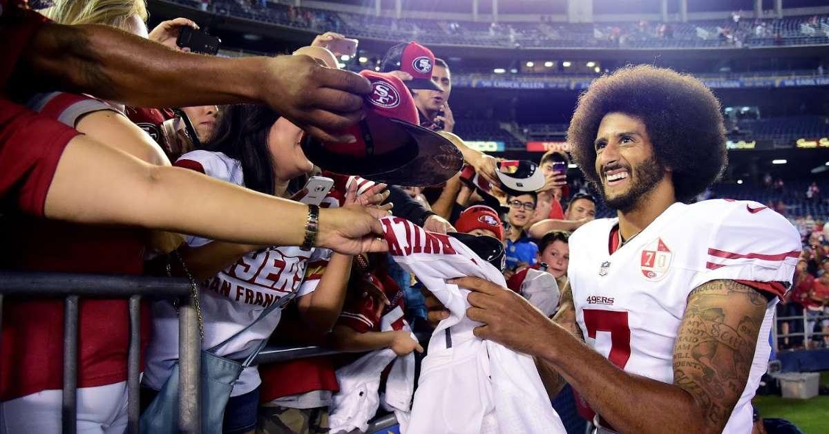 Colin Kaepernick New York Jets NFL fans excited false report signed