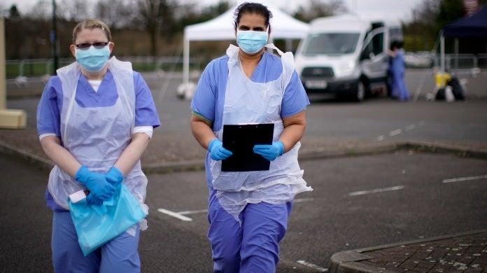 coronavirus testing uk getty images